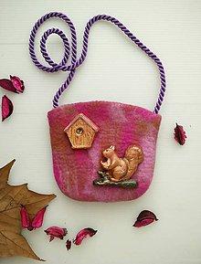 Detské tašky - Detská kabelka s hračkou_NA STROME - 9130504_