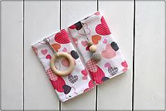 Detské doplnky - Slintáčiky Valentín - návleky na ergonomický nosič - 9131518_