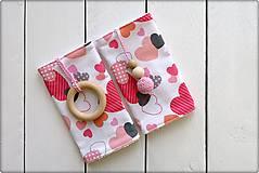 Detské doplnky - Slintáčiky Valentín - návleky na ergonomický nosič - 9131520_