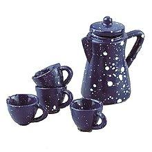 Iný materiál - Miniatúrny Servis na čaj - 9132743_