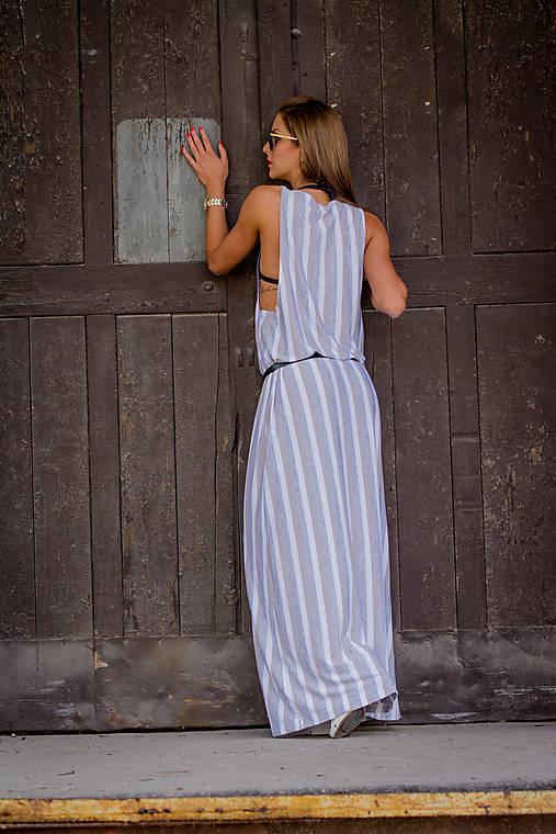Dlhé šaty s velkými prieramkami.   veronikaIN FASHION - SAShE.sk ... a8283b4b70d