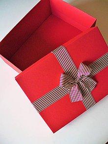 Krabičky - valentínsky / vianočný box - 9129967_