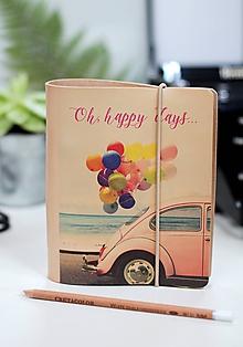 Papiernictvo - Kožené zápisníky motivačné A6 - 9130177_