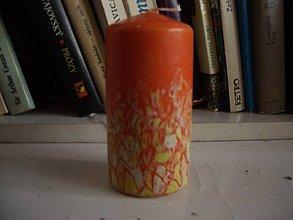Svietidlá a sviečky - sviečka Orange - 9132111_