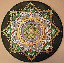 Dekorácie - Mandala úspechu a hojnosti - 9134223_