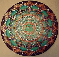 Dekorácie - Mandala...Láska v srdci, pokoj v duši - 9134260_