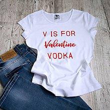 Tričká - Dámske tričko Vodka - 9132900_