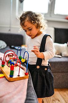 Detské oblečenie - Traková sukienka - 9131681_