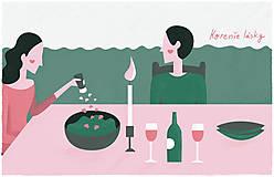 Grafika - Print Korenie lásky - 9130373_