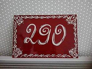 Dekorácie - Číslo domu - 9132926_