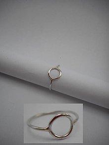 """Prstene - Prstienok """"krúžok"""" - 9129930_"""