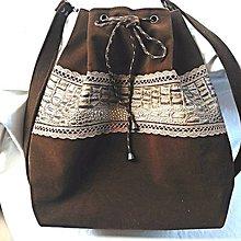Kabelky - Semišová kabelka - Anežka - 9132154_