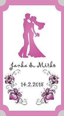 Papiernictvo - Svadobné etikety SVAD1 - 9133461_