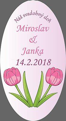Papiernictvo - Svadobné etikety SVAD2 - 9133475_