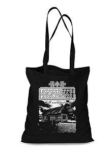 Nákupné tašky - Plátená Ekologická nákupná taška Čičmany 1 (Červená) - 9132419_