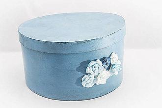 Krabičky - Papierová krabica - kvety - 9133225_