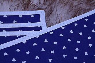 Úžitkový textil - Valentínske, srdiečkové prestieranie II. - 9133407_