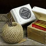 Krabičky - Čajová jednotka (HOMEMADE - čierna) - 9133258_