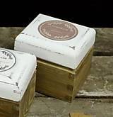 Krabičky - Čajová jednotka (HOMEMADE - béžová) - 9133267_
