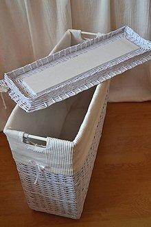 Košíky - Prádlový kôš PUMSIG - 9131775_