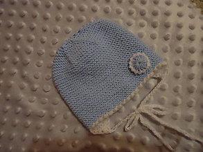 Detské čiapky - Baby čiapočka-koliesko - 9138635_