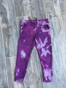 Detské oblečenie - Batikované tepláky - 9135562_