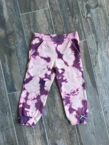 Detské oblečenie - Batikované tepláky - 9135595_