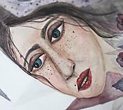 Kresby - Akvarel - Lucid dreamer - Originál - 9136113_