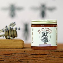 Potraviny - levanduľový med (130g) - 9138148_