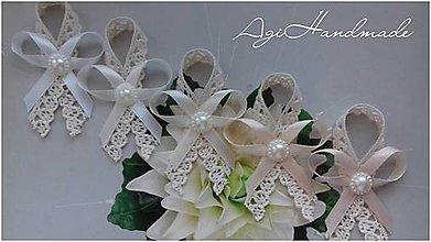 Pierka - svadobné pierko ,, natur mix ,, - 9139070_