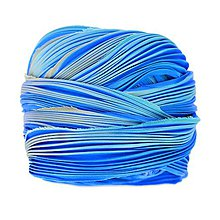Galantéria - Hodvábna stuha Shibori Crystal blue persuasion - 9135119_