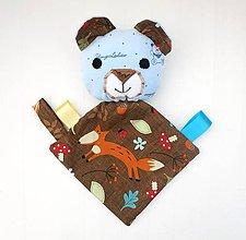 Hračky - Mojkáčik medvedík - Macko z Lesnej škôlky - 9137525_