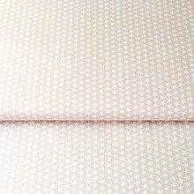 Textil - kvietky na ružovej; 100 % bavlna Francúzsko, šírka 160 cm, cena za 0,5 m - 9137196_