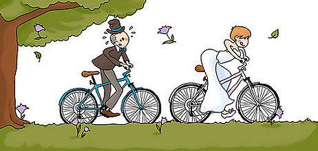 Papier - Svadobné oznámenia s príbehom - Grafika - 9136725_