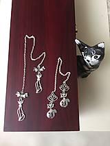 Papiernictvo - Záložka s 2 mačičkami - 9135901_