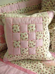 Úžitkový textil - romantický vankúš - 9136285_