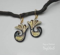 Náušnice - keramické náušky - Vtáctvo z kráľovskej záhrady - 9137408_