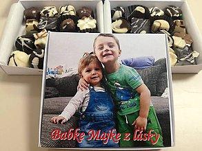 Potraviny - ČOKObonboniera 16 s fotkou - 9135560_
