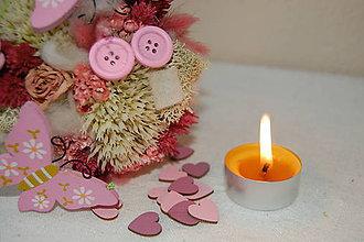 Svietidlá a sviečky - Čajová sviečka (10 ks čajových sviečok) - 9134833_
