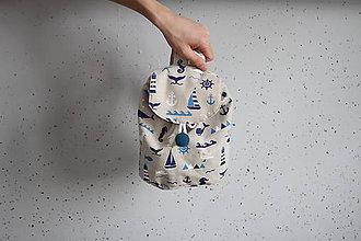 Detské tašky - Detský ruksak - More - 9135613_