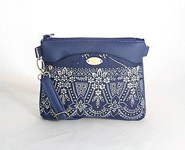 Kabelky - Eva mini modrá 1 - 9135135_