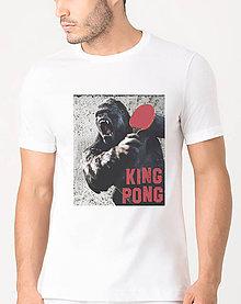 Tričká - King pong- tričko s potlačou - 9138562_