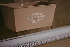 Nádoby - Rám na bylinky a iné rastlinky - predaný - 9135083_