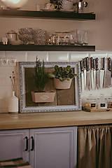 Nádoby - Rám na bylinky a iné rastlinky - predaný - 9135089_
