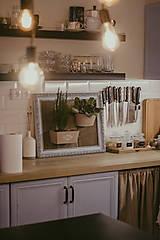 Nádoby - Rám na bylinky a iné rastlinky - predaný - 9135091_