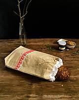 - Ručne vyšívané vrecko na chlieb - 9136994_
