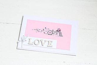 Papiernictvo - svadobná pohľadnica - 9137228_