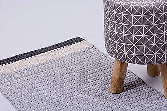 Úžitkový textil - Háčkovaný koberec do kuchyne - 9136396_