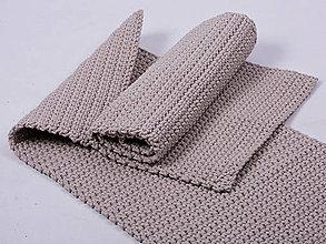 Úžitkový textil - Háčkovaný koberec, predložka - 9138674_