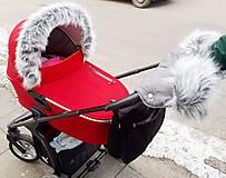 Textil - Luxusný set na kočík - 9139547_